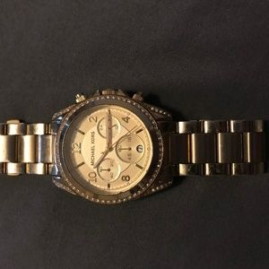 MICHAEL KORS WOMENS GOLD WATCH MK 5166